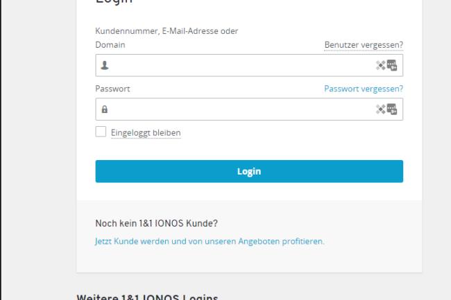 1 & 1 versatel Webmail Login
